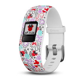 Garmin vivofit jr. 2 Disney (Minnie Mouse) - regulowana opaska 010-01909-10