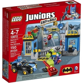 LEGO Juniors 10672 Batman Obrona Bat Cave