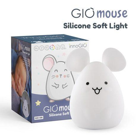 InnoGIO Silikonowa Lampka nocna GIOmause GIO-100 (1)